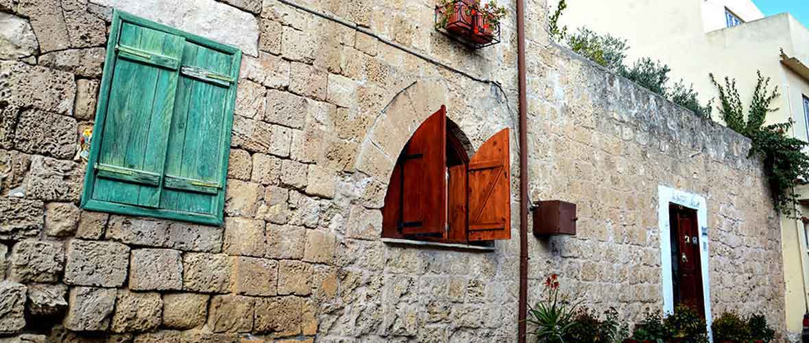 Historical Lusignan House in the Walled City of Famagusta, Cyprus